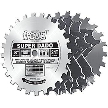 """Freud 8"""" x 24T Super Dado Sets (SD508)"""