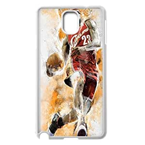 Unique Phone Case Pattern 8Hard Plastic Cover NBA Cleveland Cavaliers LeBron James - For Samsung Galaxy NOTE4 Case Cover