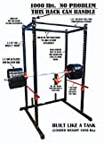TDS Mega Power Rack Black 1000lb Rated. 2 Inch 11