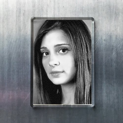 Seasons SHIRI Appleby - Original Art Fridge Magnet #js001