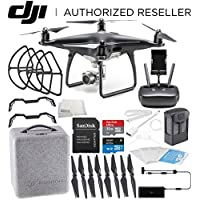 DJI Phantom 4 PRO Obsidian Edition Drone Quadcopter (Black) Starters Bundle