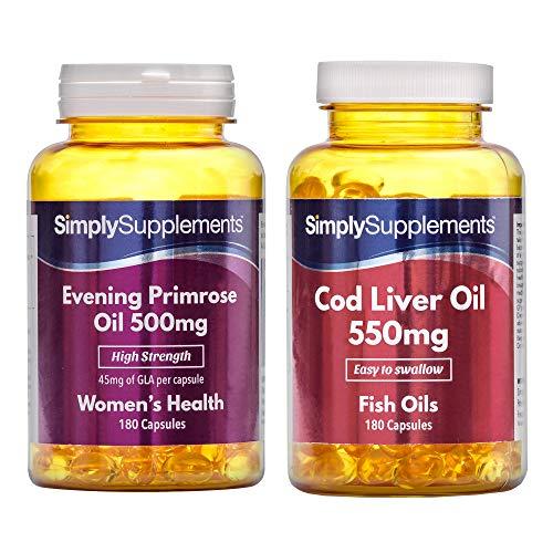 Evening Primrose Oil (360) & Cod Liver Oil