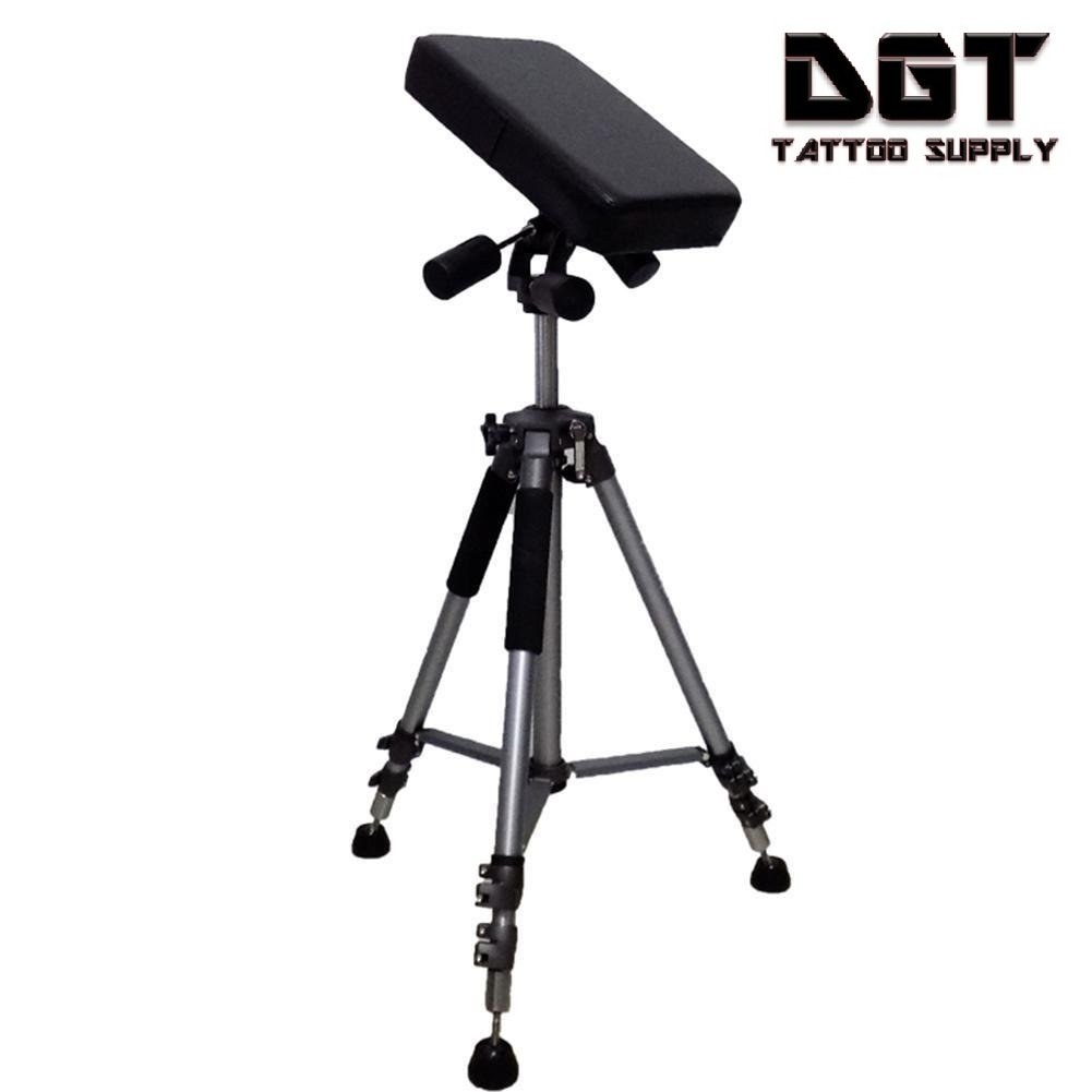 DGT 360° Fully Adjustable Portable Tattoo Armrest with carry bag