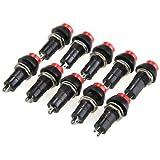 10 Stück Taster Einbauschalter Schalter Switch ON/OFF Push Button KFZ ?11,5mm