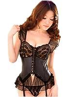 Samgu-Sexy Lingerie Sous vêtements Girly de mode de corset à la tentation de sling