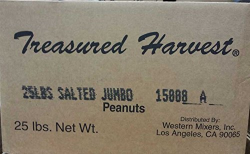 Roasted & Salted Jumbo Peanuts - 25 lb. Box (Roasted In Shell Peanuts 25lbs compare prices)