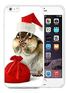 Hot Sell Design iPhone 6 Plus Case,The gift of the squirrel White iPhone 6 Plus 5.5 TPU Case 1