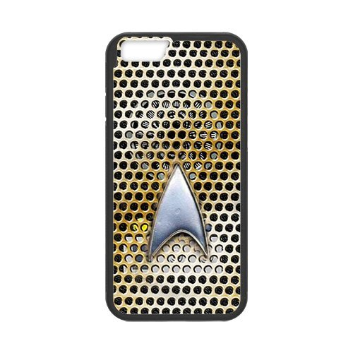 Fayruz- Personalized Protective Hard Textured Rubber Coated Cell Phone Case Cover Compatible with iPhone 6 & iPhone 6S - Star Trek F-i5G1029