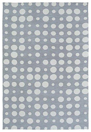 Kaleen Rugs Lily & Liam Collection LAL04-75 Grey Machine Tufted Rug 8' x 10' [並行輸入品] B07HLFZDJ3