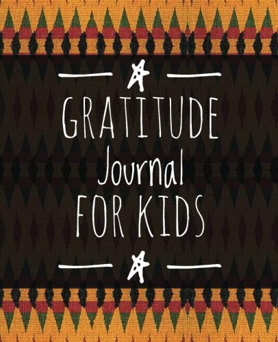 "Gratitude Journal For Kids: African Fabric Print (2), 7.5"" x..."