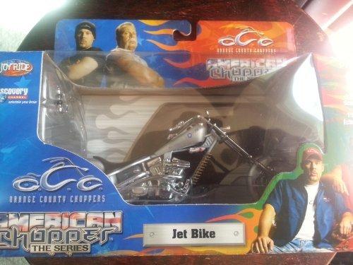 1:18 SCALE OCC ORANGE COUNTY CHOPPERS JET BIKE DIE CAST MODEL AMERICAN CHOPPER by ERTL (American Chopper Jet Bike)