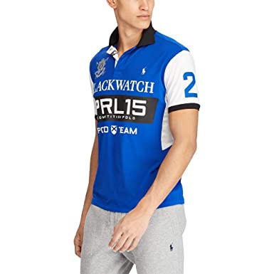 Ralph Lauren - Camiseta Corte Ajustado Blackwatch - Sapphire Star ...