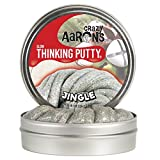 Jingle Holiday Thinking Putty - Novelty Toy by Crazy Aarons Putty (JI020)