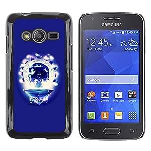 TECHCASE**Cubierta de la caja de protección la piel dura para el ** Samsung Galaxy Ace 4 G313 SM-G313F ** Party Skull