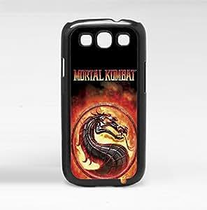 Fun Fiery Mortal Kombat Art Hard Snap on Phone Case (Galaxy s3 III)