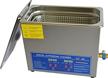 Amazon com: 6L Commercial Stainless Ultrasonic Cleaning Machine JPS