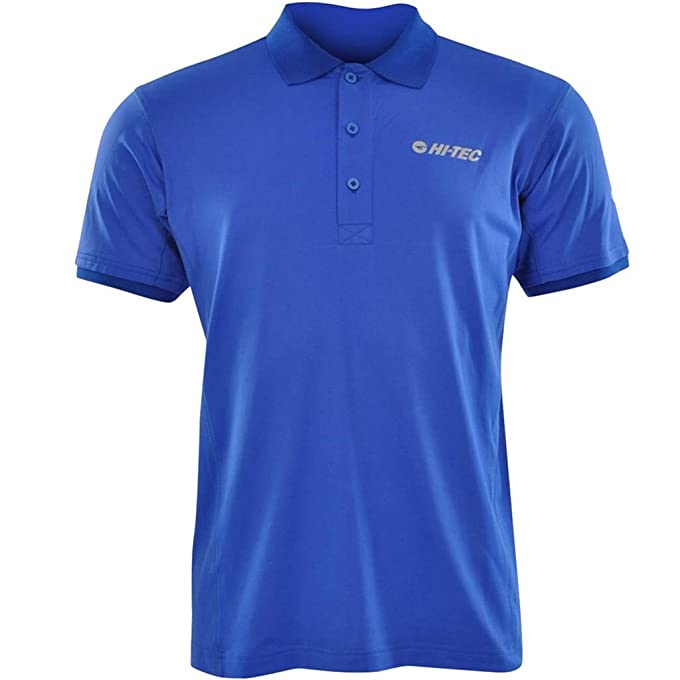 Amazon.com : Hi-Tec Fenton UPF 30 Mens Performance Golf Polo Shirt : Sports  & Outdoors