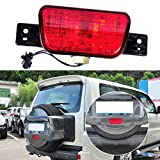 beler Rear Spare Tire Lamp Tail Bumper Light Fit for Mitsubishi Pajero Shogun