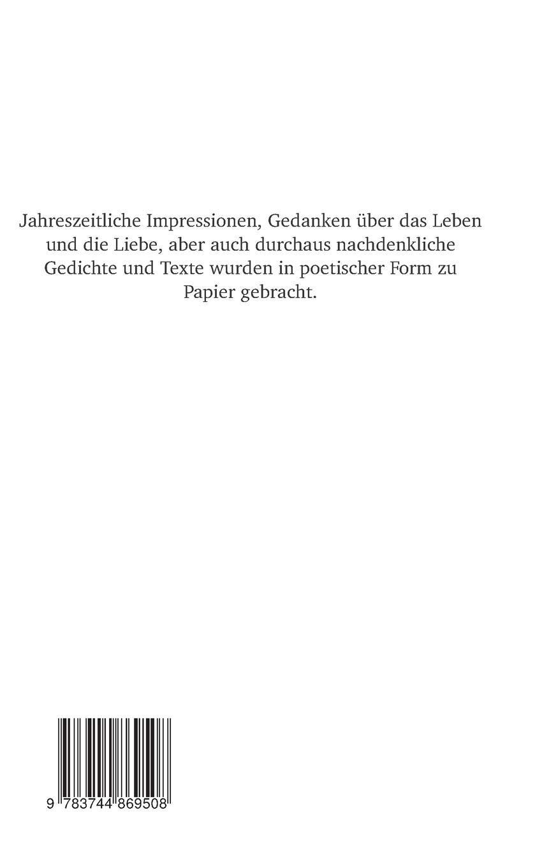Poesie German Edition Heidrun Paulgen 9783744869508