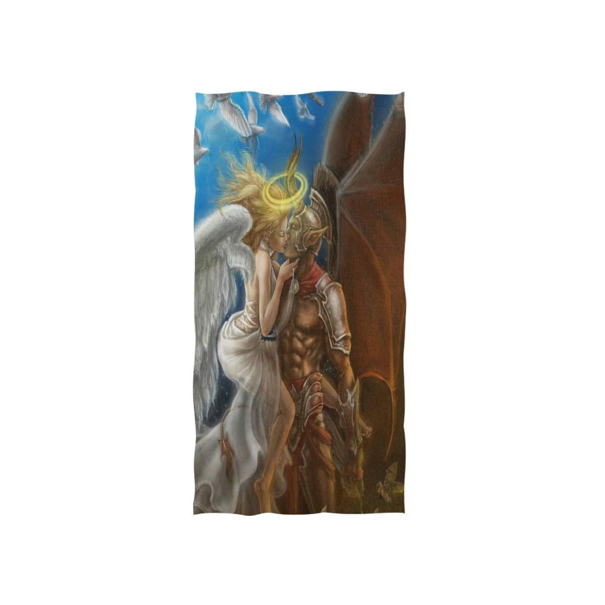 Amazon com: Love beautiful Angel and Devil Fantasy HD