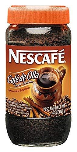 Nescafé Café De Olla, Instant Coffee, Cinnamon, 6.7 Ounce Jar (Pack of 2)