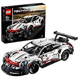 LEGO 42096 Technic Porsche 911 RSR Building Set, Realistic Car Model, Advanced Construction Kit