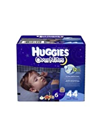 Huggies OverNites Diapers, Size 6, Big Pack, 44 Count BOBEBE Online Baby Store From New York to Miami and Los Angeles