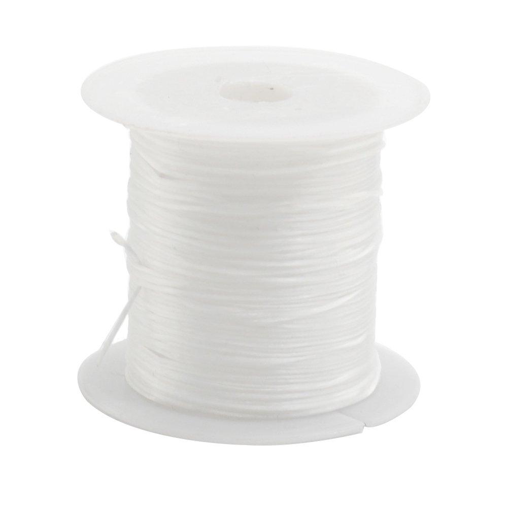 Cuerda de cristal el/ástica de 10 m para bisuter/ía Tama/ño libre accesorios manualidades amarillo pulsera