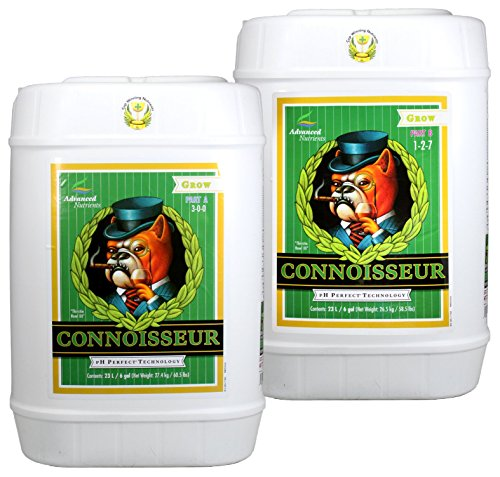 Advanced Nutrients Connoisseur Part - Advanced Nutrients pH Perfect Connoisseur Grow 2 Part A&B 23L Liter / 6 Gallon