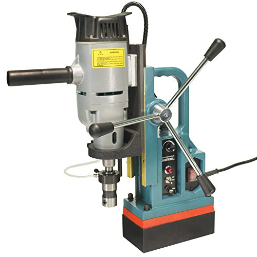 Steel Dragon Tools MD45 Magnetic Drill Press with 13PC 2'' HSS Annular Cutter Kit by Steel Dragon Tools (Image #1)