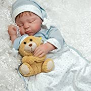 Paradise Galleries Boy Baby Doll that Looks Realistic - Lil Man in the Moon 21 inch GentleTouch Vinyl with Weighted Body