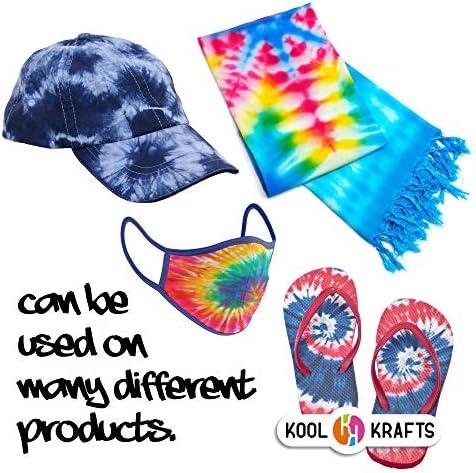 Tie Dye Kit   Fabric Dye   Tie Dye DIY T-Shirt Set   All-in-1 DIY Fashion Dye Kit - 12 Colors Tie Dye + 4 White T-Shirt   Crafts for Girls & Boys Ages 6-12   Tye Dye Kits Set   Best Tie Dye Party Kit