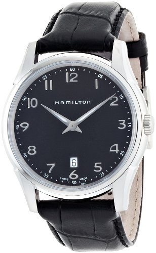 [ハミルトン]HAMILTON Jazzmaster Thinline 42mm (ジャズマスター シンライン 42mm) ブラックダイアル H38511733 メンズ