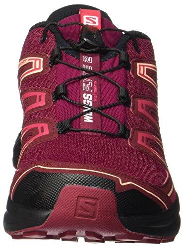 2 Cabernet Womenâ Les Rouge Betterave Salomon Rouge De Chaussures Cabernet Trail € Ailes Running Noir Flyte betterave Rouge Noir ™ BxU1x0q