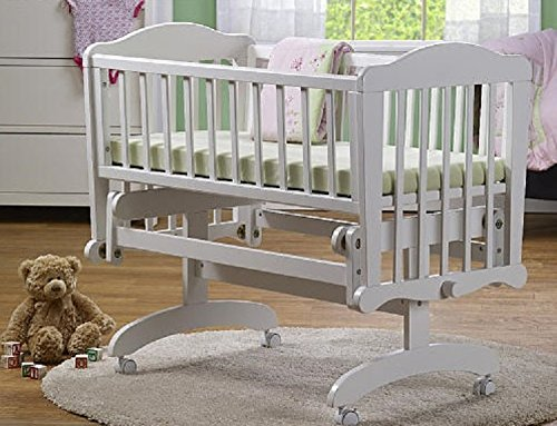 Changing Table Island (Sorelle Dondola Gliding Cradle - White)