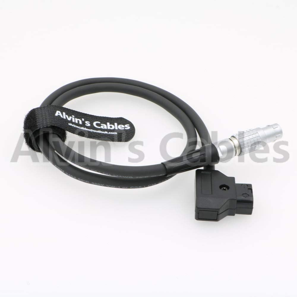 Gimax 4pin lemo FGK female to dtap Power Cable for Canon mark II C100 C500