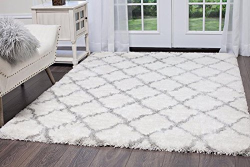 "Home Dynamix Carmela Tali Area Rug 7'10"" x10'2, Geometric Ivory/Gray from Home Dynamix"