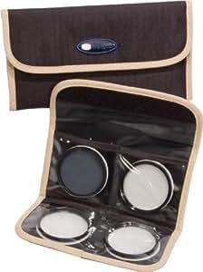 Bilora 7025-77 - Portafiltro fotográfico para filtros de 77 mm, marrón