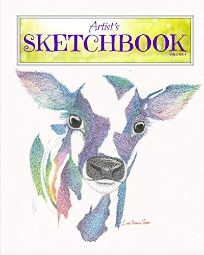 Artist's Sketchbook #5: A Large Journal with Blank Paper for Drawing, Sketching and Doodling (Volume 5)