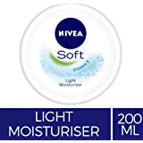 NIVEA Soft Light Moisturiser With Vitamin C, 200ml