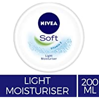 NIVEA Soft Light Moisturiser With Vitamin C, 200ml