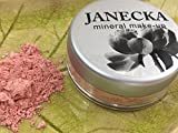 JANECKA Mineral Blush- Rose Quartz - Natural Make Up