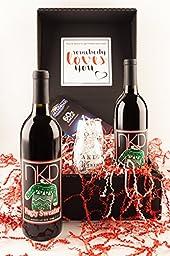 Fugly Sweater Wine Gift Set, 2 x 750 mL