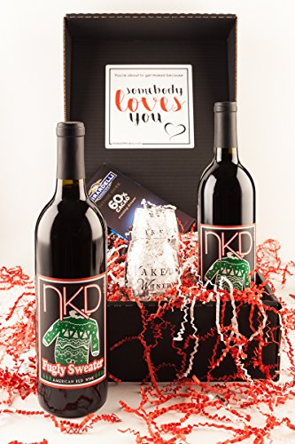 Fugly Sweater Wine Gift Set, 2 x 750 mL