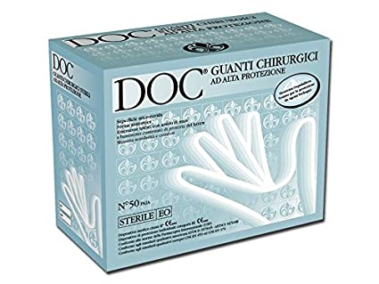 DOC Guanti Chirurgici Sterili in Lattice 2a60a8b4a5b8