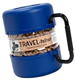 Vittles Vault Pet Food Travel-Tainer Kit, Blue