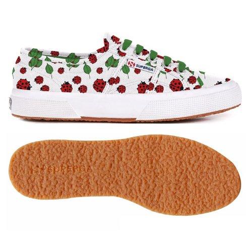 Superga - Zapatillas de deporte de lona para mujer Ladybugs