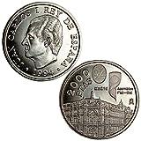 Asamblea FMI-BM 2000 Pesetas Silver Coin - Spain 1994