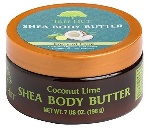 Tree Hut Shea Body Butter 7 Ounce Coconut Lime