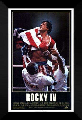 Rocky 4 27x40 FRAMED Movie Poster - Style A - 1985